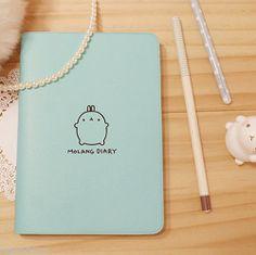 Molang Diary Planner Journal Scheduler Organizer Agenda Cute Rabbit Kawaii | eBay
