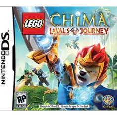 Nintendo DS - Lego Legends Of Chima Lavals Journey