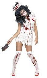 Zombie Nurse Halloween Costume http://www.partypacks.co.uk/zombie-nurse-costume-pid80130.html