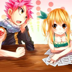 Bored - Natsu and Lucy