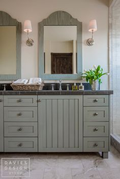 Davies Design Group - Mountain Ranch Guest Bathroom Ranch, Bathrooms, Vanity, Mountain, Group, Design, Guest Ranch, Dressing Tables, Powder Room