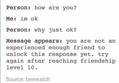 Haha maybe nah Funny Quotes, Funny Memes, Hilarious, Jokes, True Memes, Haha, Funny Tumblr Posts, I Can Relate, Story Of My Life
