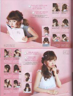 Emiiichan Blog ☆ : Liz Lisa x My Melody mook vol. 5, Popteen April 2015 & Larme 015 scans