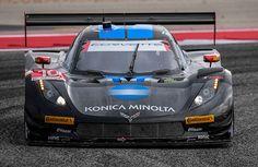Wayne Taylor Racing  2016 No.10 Konica Minolta sponsored Corvette Daytona Prototype