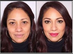 Maquillaje Rejuvenecedor para Mujeres de 40 a mas - YouTube
