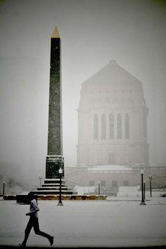 War memorial in Indianapolis by Steve Poulsen