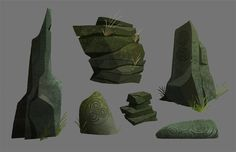 A little research on types of primitive Celtic Rock sculptures.