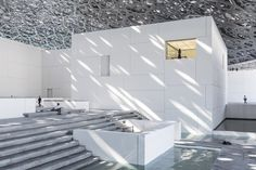 The much-anticipated Louvre Abu Dhabi, designed by Jean Nouvel, opens this week in the United Arab Emirates. Jean Nouvel, Luxury Lighting, Custom Lighting, Lighting Design, Light Architecture, Architecture Design, Louvre Abu Dhabi, Modern Chandelier, My Dream Home