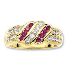 Ampalian Jewellery 18 Carat Gold Diamond Ruby Ring (015) A precious and bewitching 18 carat gold diamond and ruby ring. Contains almost half a carat of http://www.comparestoreprices.co.uk/gold-jewellery/ampalian-jewellery-18-carat-gold-diamond-ruby-ring-015-.asp
