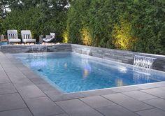 Proma XL slab in Ash Charcoal – Carpe Diem Willkommen Backyard Pool Landscaping, Backyard Pool Designs, Small Backyard Pools, Modern Backyard, Swimming Pools Backyard, Swimming Pool Designs, Lap Pools, Indoor Pools, Small Pools