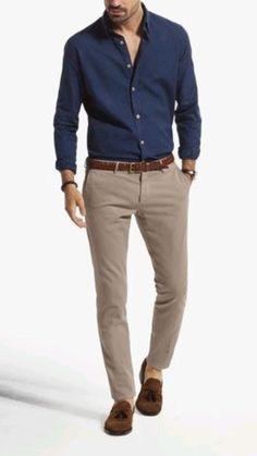 Trajes Business Casual, Business Casual Men, Business Suits, Smart Casual Wear, Men Casual, Men's Summer Smart Casual, Casual Shirts For Men, Chinos Men Outfit, Men Shorts
