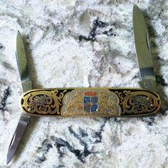 Vintage EKA folding knife. #knife #folder