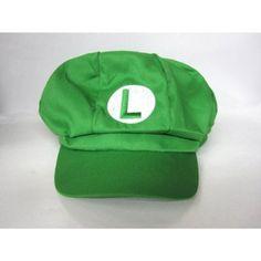 Gleader Super Mario Bros: Luigi Cotton Elastic Hat
