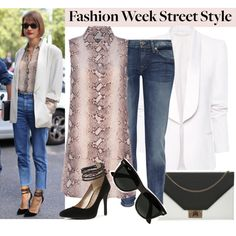 """""""Fashion Week Street Style"""" by polyvore-editorial on Polyvore"""