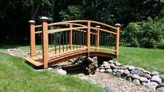 Garden Bridge - Woodworking creation by Mike S
