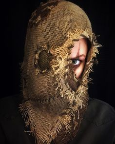 Part 1 Burlap Executioner Scarecrow Mask OOAK Visit and follow @skinwalker_labs on Instagram to see more! Scarecrow Mask, Scarecrow Costume, Witch Costumes, Halloween Drawings, Halloween Masks, Halloween Makeup, Halloween Stuff, Halloween Party, Vintage Witch