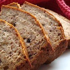 Healthier Banana bread - no butter - no sugar - no eggs - Food - baking - Brot Backen - Moist Zucchini Bread, Easy Banana Bread, Healthy Banana Bread, Banana Bread Recipes, Egg Recipes, Cooking Recipes, Healthy Recipes, Quick Bread, Healthy Food