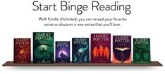 Start binge reading: With Kindle Unlimited, you can reread your favorite series or discover a new series that you'll love including customer favorites like Harry Potter volumes - 7 Playstation, Ps4, Console Xbox One, Nintendo Console, Cyberpunk 2077, Coupon Aliexpress, Nintendo Switch, Kindle Unlimited, Consoles