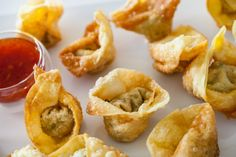 Chinese Fried Wontons Recipe