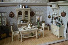 Originale Jugendstil Puppenküche - alte Tapeten - Rarität | eBay
