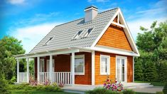 Most Cute Z39 Tiny Cottage for Sale Planned for a Relatively Small Plot