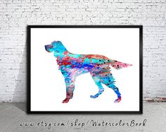 Gordon+Setter+Watercolor+Print+Children's+Wall+by+WatercolorBook