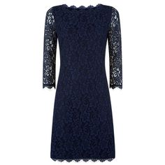Buy Fenn Wright Manson Naomi Dress, Navy Online at johnlewis.com