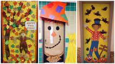 Halloween ∼ Décorations de portes pour et avec les enfants