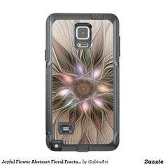 Joyful Flower Abstract Floral Fractal Art OtterBox Samsung Note 4 Case