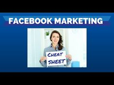 Promtional #videos for your business  Check out this example FREE download - Facebook Marketing Cheat Sheet