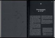 "Spector Books, John Cage 4'33"" article"