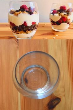 Try our berry packed vegan yogurt parfaits. Beautifully red, white, and blue, they are perfect for both a delicious breakfast, and any American holiday! Parfait Desserts, Parfait Recipes, Yogurt Recipes, Fast Food Breakfast, Vegan Breakfast Recipes, Quick Vegan Meals, Vegan Recipes Easy, Fast Dessert Recipes, Mexican Food Recipes