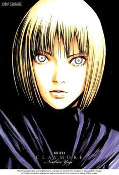 Claymore manga...cool eyes