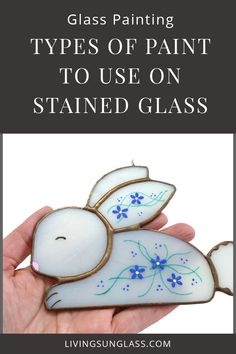 Stained Glass Paint:  Which Type of Paint to Use via @livingsunglasss