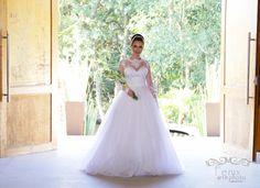 Vestido de Noiva Manga Longa Bello&Bella Noivas
