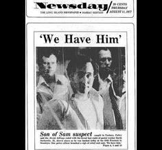 Son of Sam caught - 8/11/77
