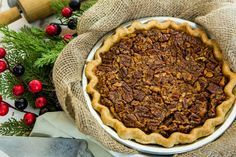 A southern treat the whole family will enjoy! Elizabeth Chambers Hammer's Southern Pecan Pie! For more recipes tune in to Home & Family weekdays at 10a/9c on Hallmark Channel!