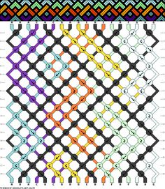 Friendship Bracelet pattern new