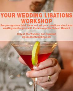 Wedding liquor questions and answers with the Minneapolis Club