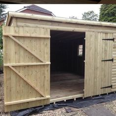 Garden Sheds 7 X 14 forest garden 7 x 5 pressure treated double door overlap apex shed