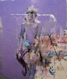 "Saatchi Art Artist christos tsimaris; Painting, ""Max with Charlie"" #art"