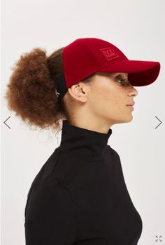 be88a38bae733 Beyoncé s Ivy Park cap for Afros and curly hair Running Hairstyles