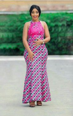 The complete pictures of latest ankara long gown styles of 2018 you've been searching for. These long ankara gown styles of 2018 are beautiful African Fashion Designers, Latest African Fashion Dresses, African Dresses For Women, African Print Dresses, African Print Fashion, Africa Fashion, African Attire, African Wear, African Women