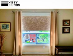 Custom Window Blinds in Vaughan - Nifty Blinds Motorized Blinds, Roller Blinds, Window Design, Windows, Blinds, Custom Window Blinds, Blackout Blinds, Custom Windows, Blinds For Windows