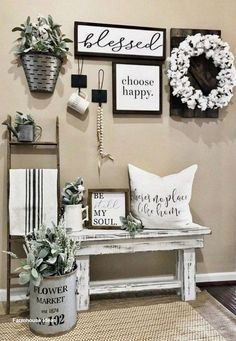 If you are looking for Farmhouse Wall Decor Ideas, You come to the right place. Below are the Farmhouse Wall Decor Ideas. This post about Farmhouse Wall Decor I. Modern Farmhouse Decor, Rustic Decor, Farmhouse Style, Rustic Farmhouse, Farmhouse Ideas, Rustic Entryway, Urban Farmhouse, Farmhouse Nashville, Decor Vintage