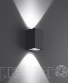 Bega Wandleuchten mit zweiseitigem Lichtaustritt für Halogenlampen