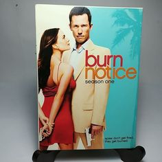 Burn Notice Season One, 4 Discs DVD Box Set,TV Series Season - In Original Box Bbc Tv Series, Dvd Set, Movie Collection, Pick One, Burns, Seasons, The Originals, Movies, Movie Posters