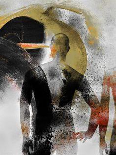 'The back' von Gabi Hampe bei artflakes.com als Poster oder Kunstdruck $20.79