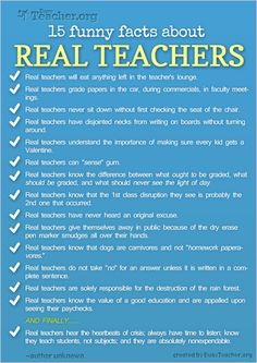 SO TRUE real teachers