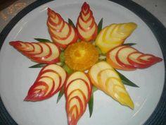 2 fruit salad plate